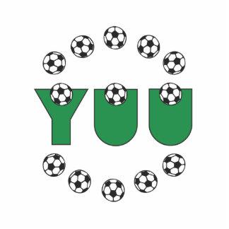 Yuu in Soccer Green Photo Cut Out