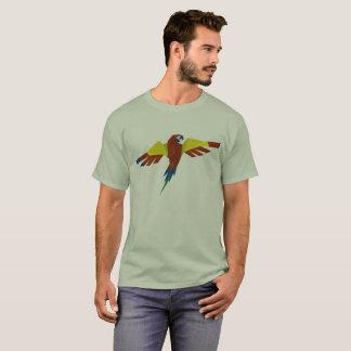 yuyass colourful parrot mandala t-shirt