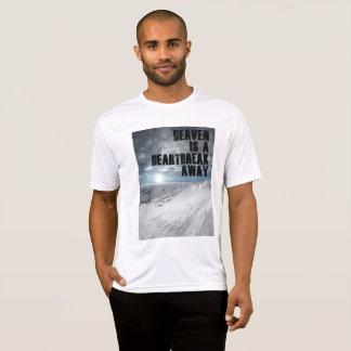 yuyass heaven is a heartbreak away t-shirt