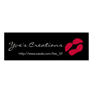 Yve s Creations Profile Card - Customizable Business Card Templates