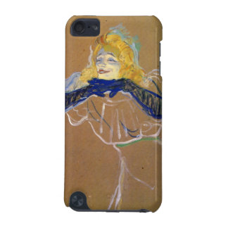Yvette Guilbert sings by Toulouse-Lautrec iPod Touch (5th Generation) Case