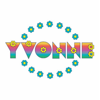 Yvonne Flores Rainbow Photo Cutouts