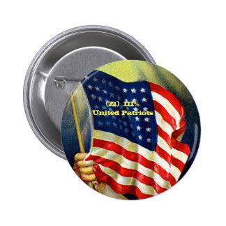 Z1 Patriots 6 Cm Round Badge