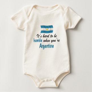 Z-Argentina humble.png Baby Bodysuit