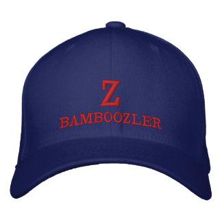 Z BAMBOOZLER - Flexfit Wool  Embroidered Blue Cap