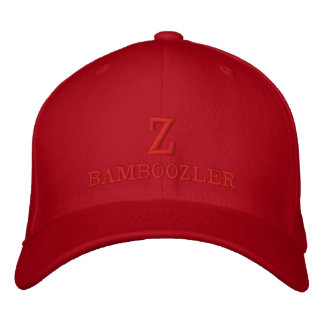 Z BAMBOOZLER - Flexfit Wool  Embroidered Red Cap
