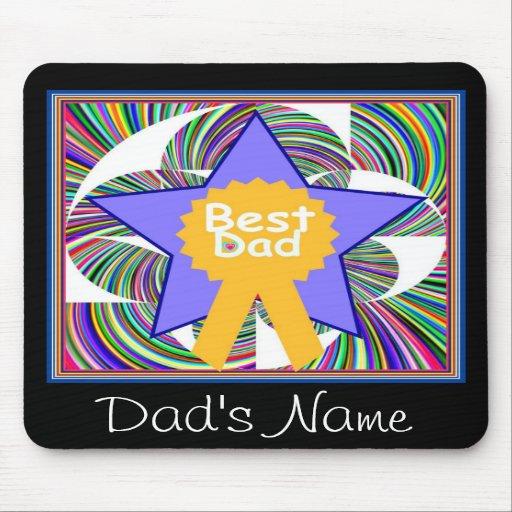 Z. BEST DAD MOUSE PADS