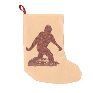 Z Bigfoot Walking Sasquatch Small Single Side