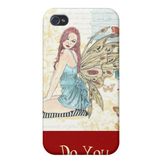 """Z """"BirdCage Fairy"""" iphone4 case iPhone 4 Covers"""