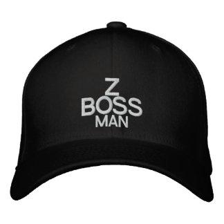Z BOSS MAN - Customizable Cap @ eZaZZleMan.com Embroidered Baseball Cap