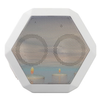 z+Candle steps - 3D render White Bluetooth Speaker