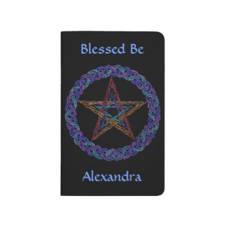 Z Colorful Pentagram New Age Personalized Journal