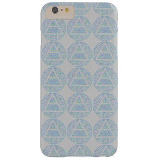 Z Colorful Platos Air Sign Triad Symbol Pattern Barely There iPhone 6 Plus Case