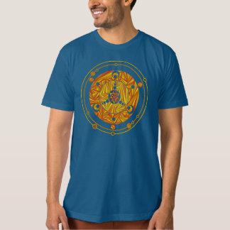 Z Golden Crop Circle Paranormal UFO Geek T Shirt
