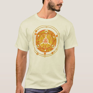 Z Golden Crop Circle Paranormal UFO Geek T-Shirt