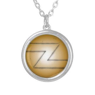 Z initial letter pendant