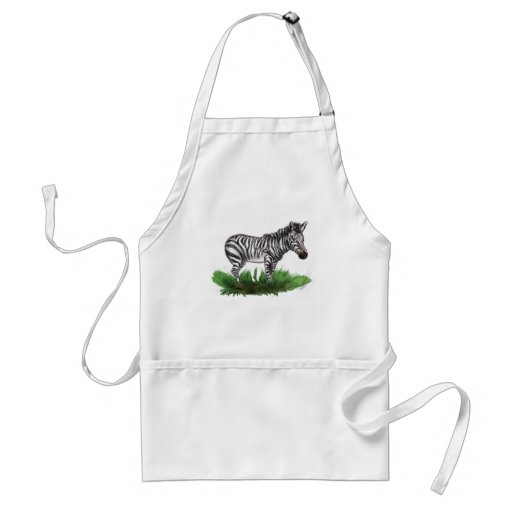 Z is for Zebra Aprons