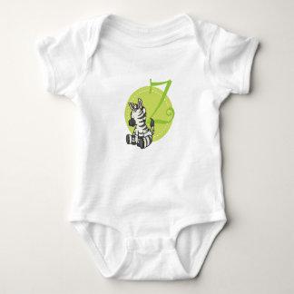 Z is for Zebra Baby Bodysuit