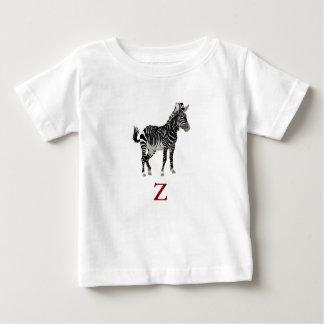 Z is for Zebra Baby T-Shirt