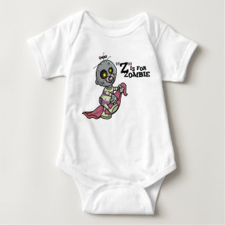 """Z"" is for Zombie (girls) Infant Creeper"