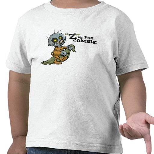 """""""Z"""" is for Zombie w/ Blanket (Boys) Toddler Tshirt"""