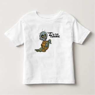 """""""Z"""" is for Zombie with Blanket (boys) Toddler T-Sh Toddler T-Shirt"""
