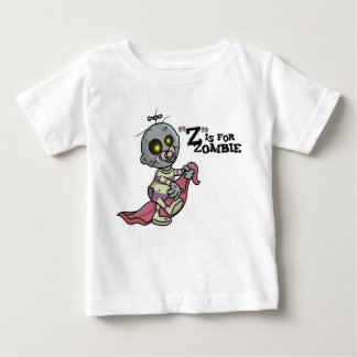 """Z"" is for Zombie with Blanket (Girls) T-Shirt"