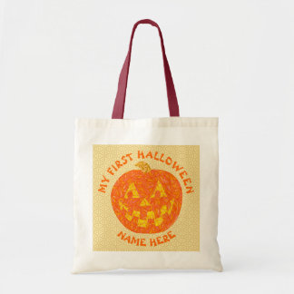 Z My 1st Halloween Jack O Lantern Pumpkin Fun