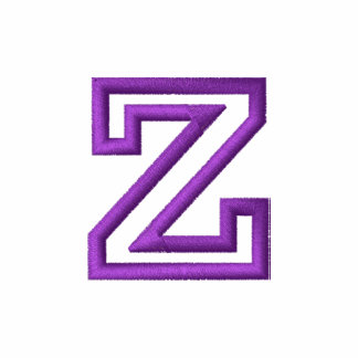 """""""Z"""" Small Athletic Letter"""