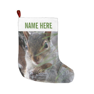 Z Squirrel With Peanut Woodland Personalized