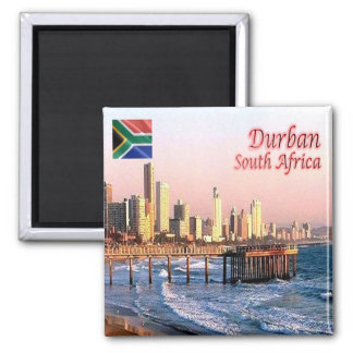 ZA - South Africa - Durban - Skyline Crop Magnet