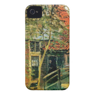 Zaandam, Little Bridge by Claude Monet iPhone 4 Case-Mate Cases