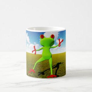 Zabka the frog coffee mug