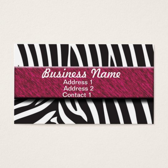 Zabra Business Card