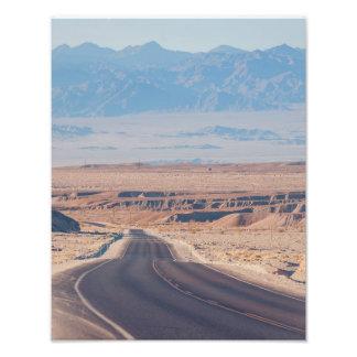 Zabriskie Desert Highway Photo Print