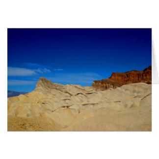 Zabriskie Point, Death Valley Note Card