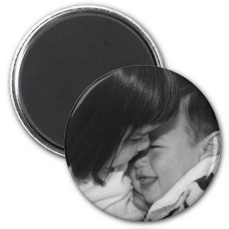 Zach & Sarah fridge magnet