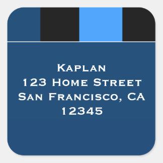 "Zachary Blue Black 1.5"" Envelope Seal"