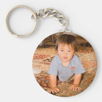 Zach's 1st Birthday keychain