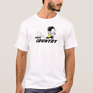Zack Cross Country Runner T-Shirt