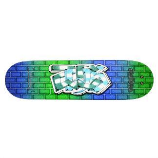 ZACK Tag 02 ~ Custom Graffiti Art Pro Skateboard