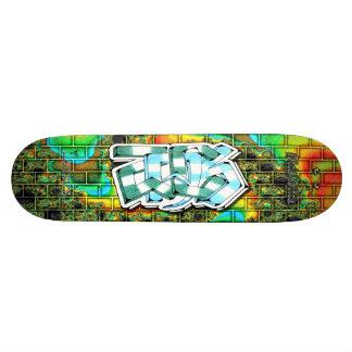ZACK Tag 03 Custom Graffiti Art Pro Skateboard