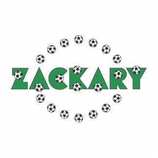 Zackary in Soccer Green Acrylic Cut Outs