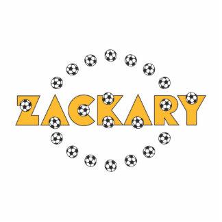 Zackary in Soccer Yellow Photo Sculptures