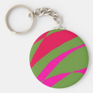 zag basic round button key ring