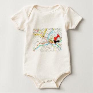 Zagreb, Croatia Baby Bodysuit