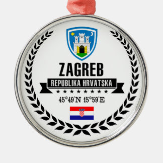 Zagreb Metal Ornament