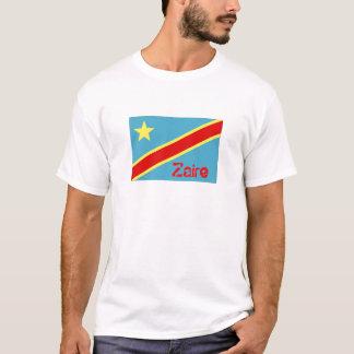 Zaire flag souvenir t-shirt
