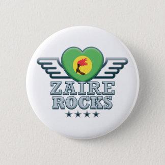 Zaire Rocks v2 6 Cm Round Badge