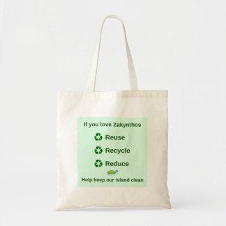 Zakynthos Reusable bag - Keep island clean